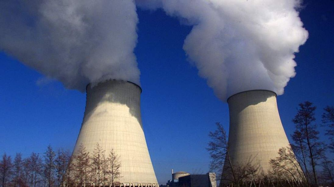 Nuclear power station in Nogent-Sur-Seine, France