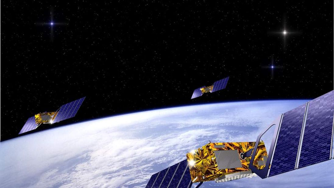European governments agreed on May 26, 2003 to launch the long-delayed Galileo space program, seen a..