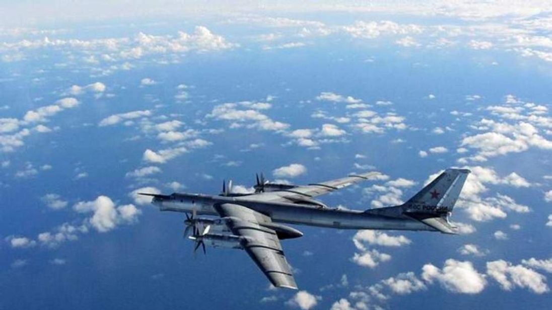 RAF jets intercept Russian military plane