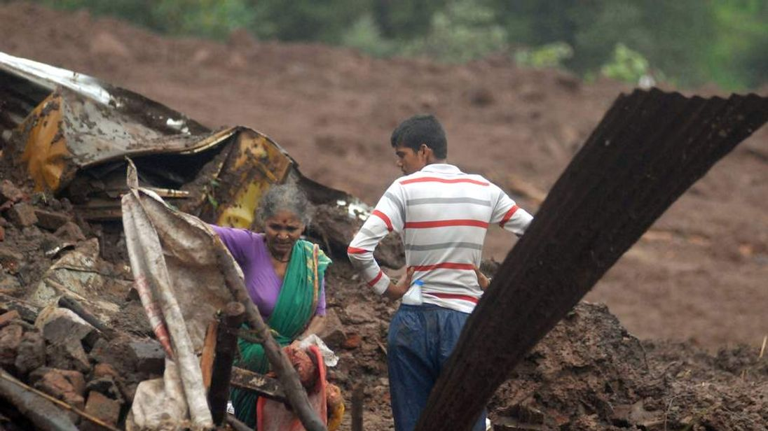 INDIA-DISASTER-LANDSLIDE