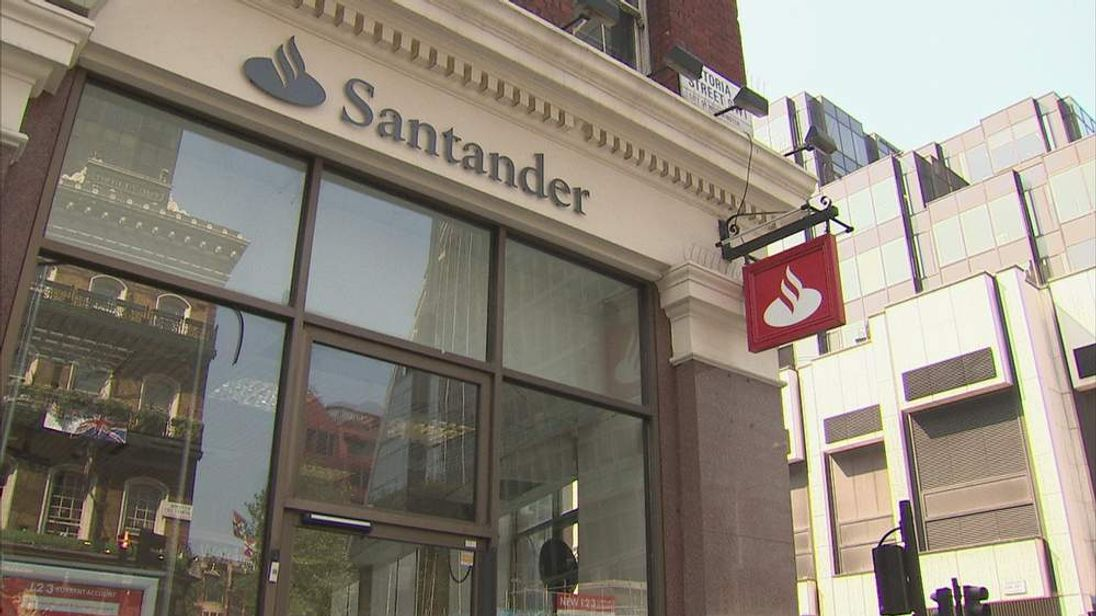 Santander UK bank branch