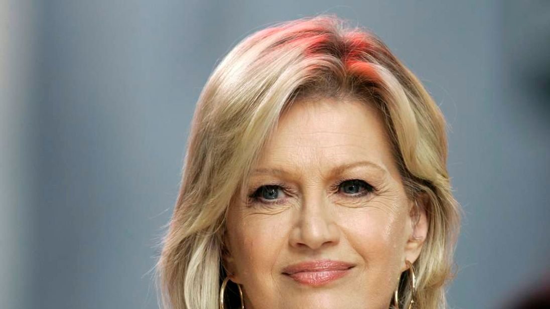 "Diane Sawyer, co-anchor of ABC's ""Good Morning America"" television show is pictured on the program in New York"