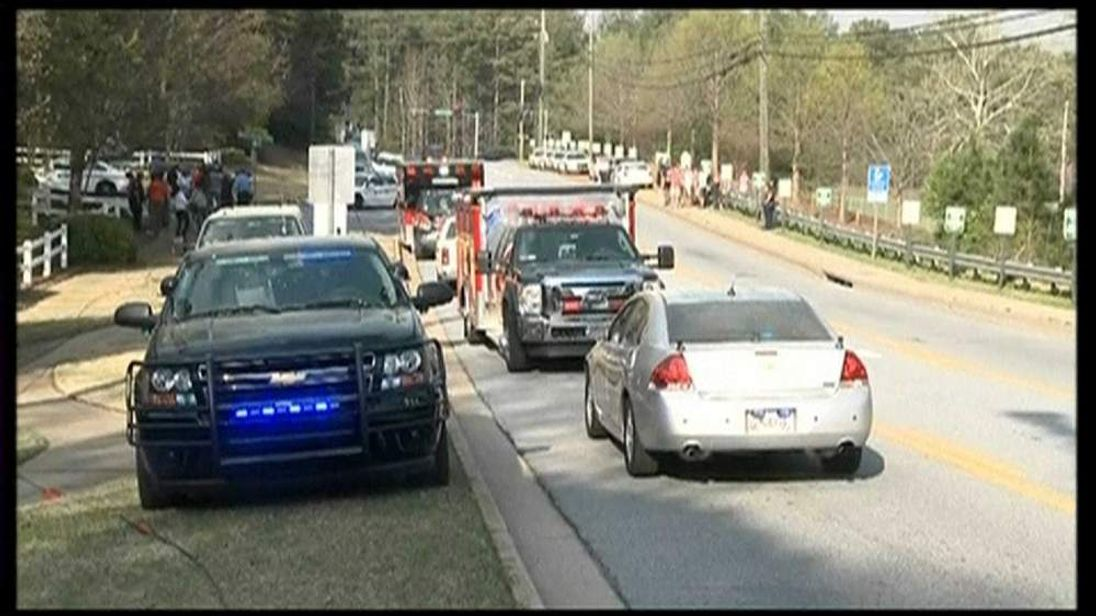 Firefighters held hostage by armed man in Georgia