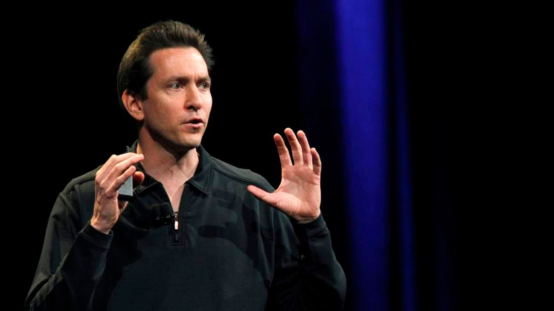 Scott Forstall in June of this year