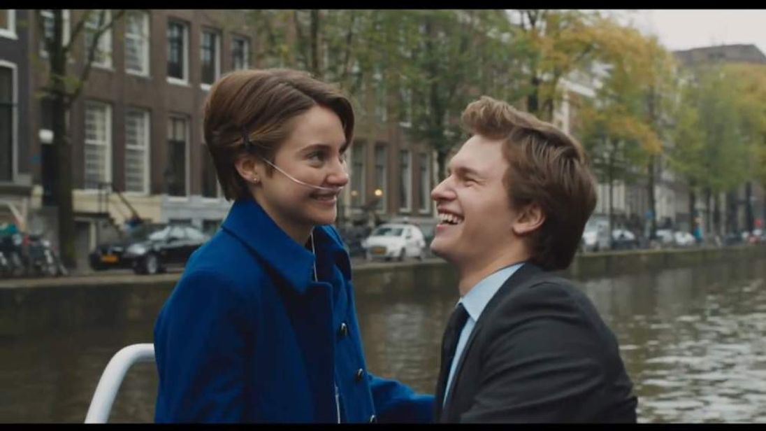The Fault In Our Stars is based on a bestselling book