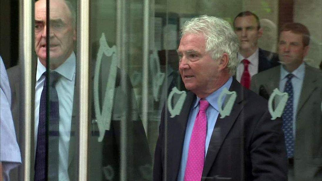 Ex-boss of AIB Bank Sean Fitzpatrick