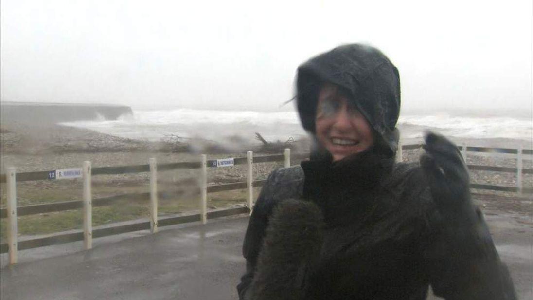 Jayne Secker in Lyme Regis, Dorset