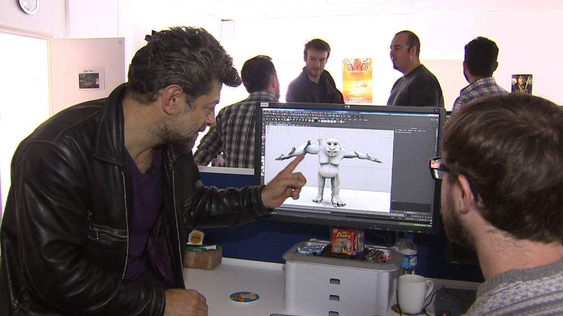 Andy Serkis at National Film and Television School