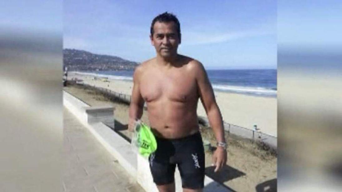 050714 $$ Man attacked by shark in California's Manhattan Beach