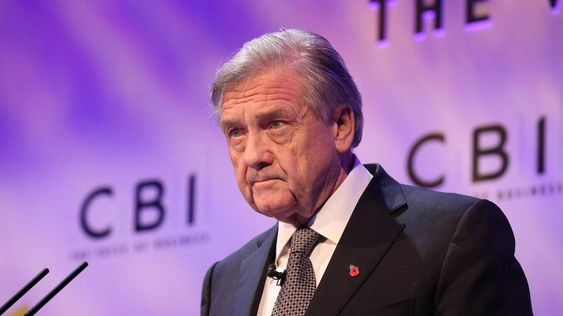 Sir Michael Rake, President of The Confederation of British Industry (CBI)