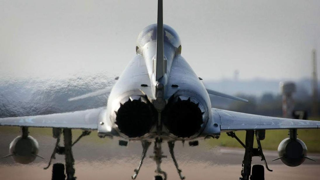 Two New Typhoon Tranche 2 Aircraft Delivered To RAF Coningsby
