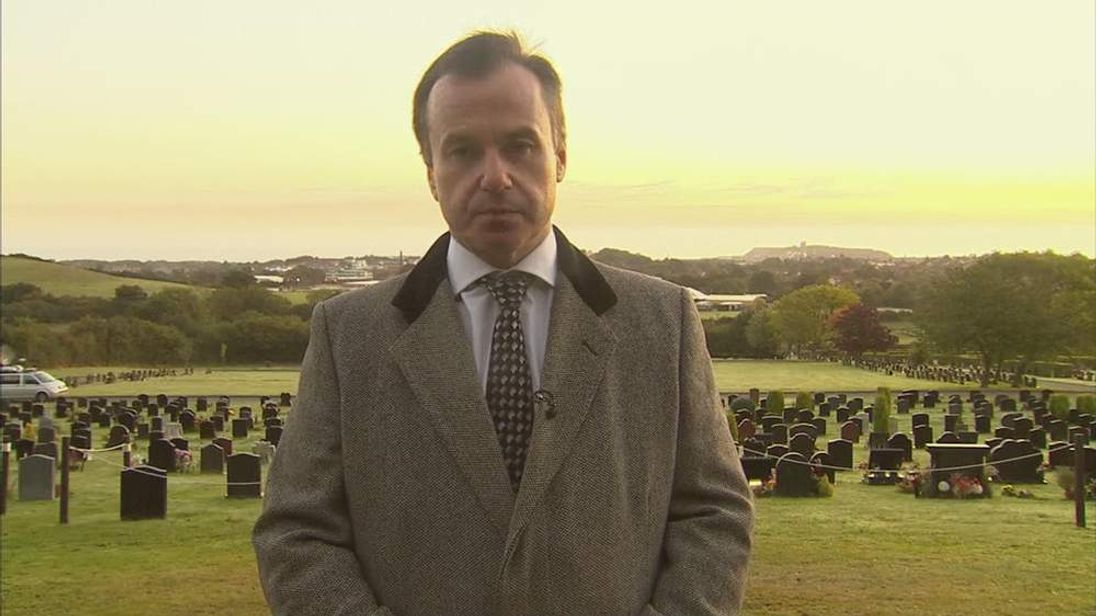 Jimmy Savile's funeral director Robert Morphet