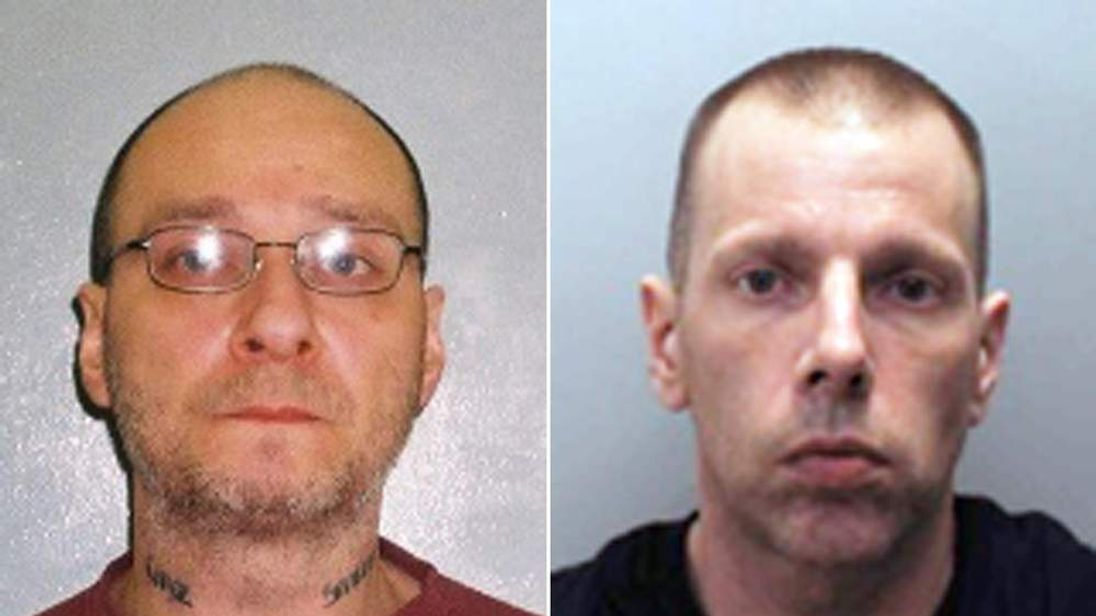 Gary Smith, 48, (left) and Lee Newell, 44