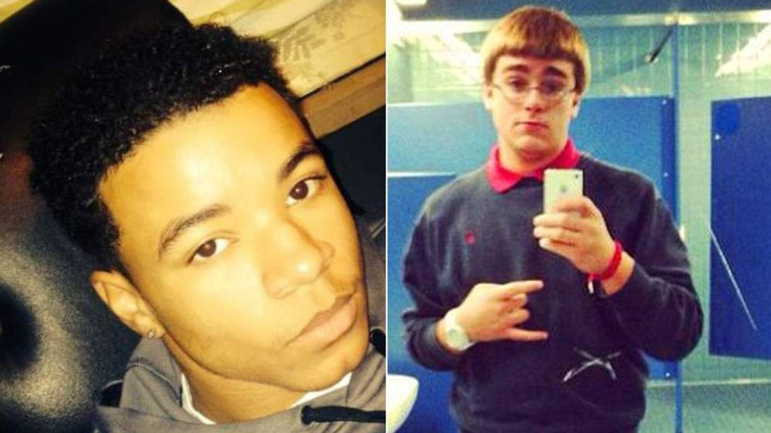 Maxwell Marion Morton (L) accused of murder of Ryan Mangan (R)