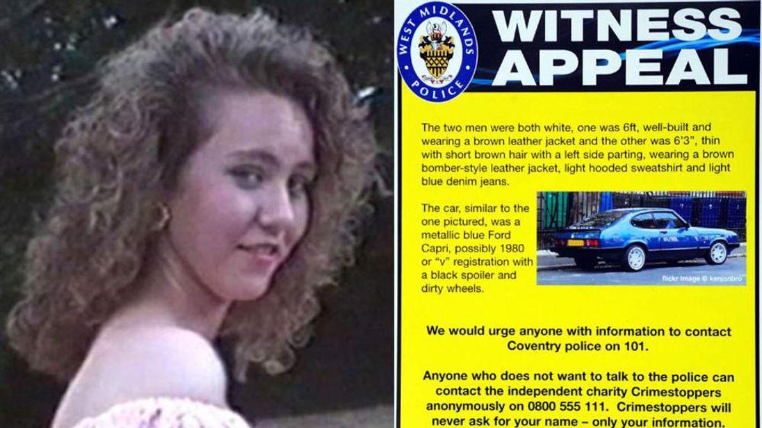 Nicola Payne went missing in December 1991