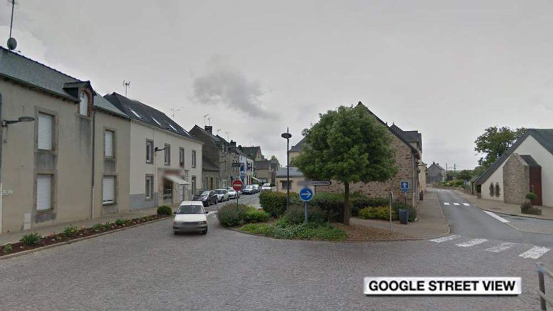 The village of Saint-Pierre-la-Cour