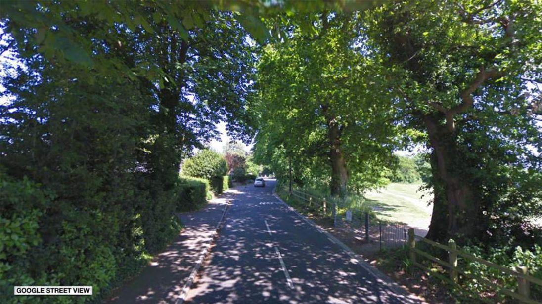 Map of Rookes Lane, Lymington, Hampshire