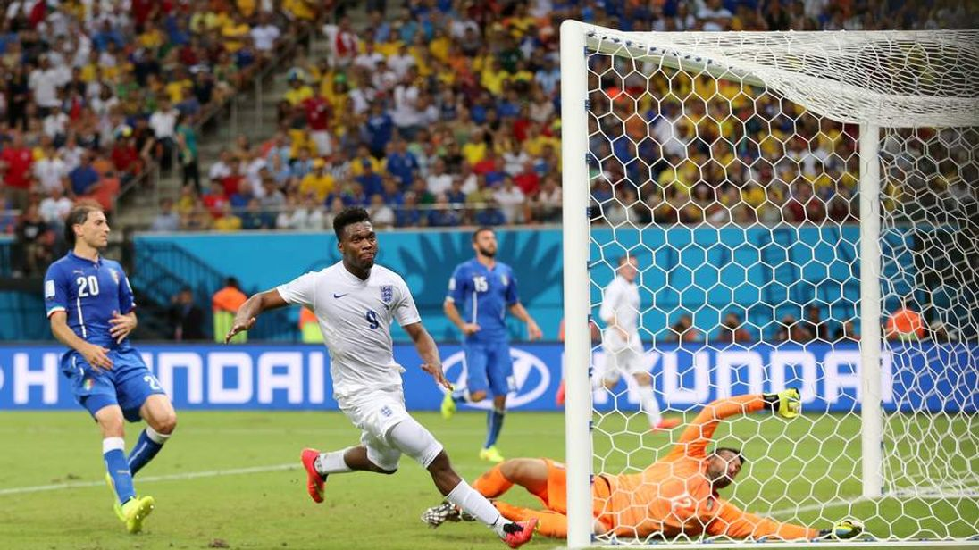Daniel Sturridge scores goal