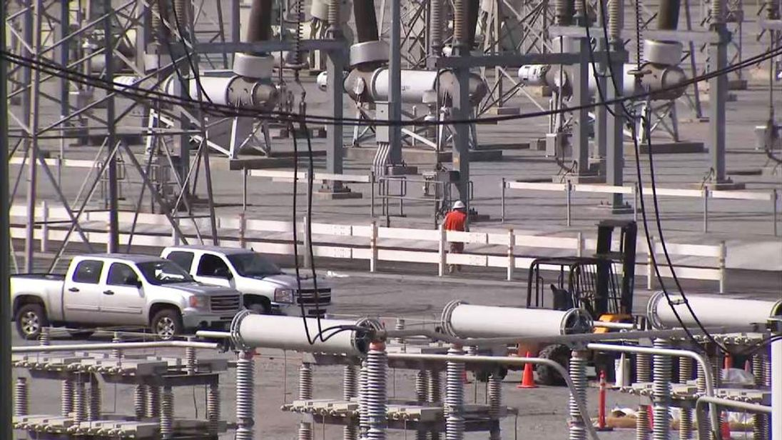 US electricity substations