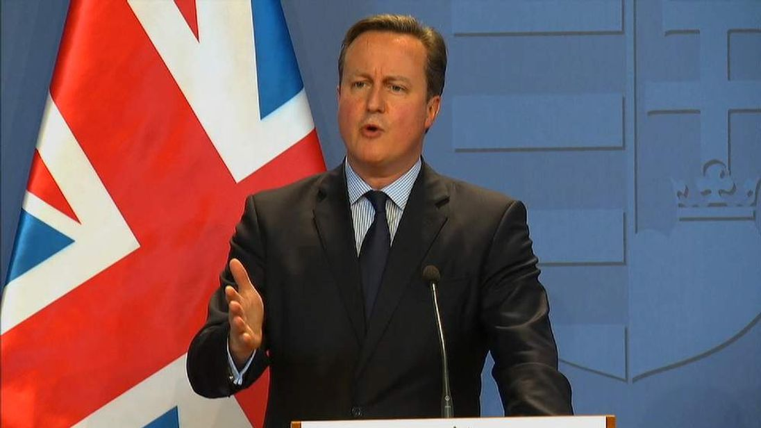 David Cameron comments on a sugar tax