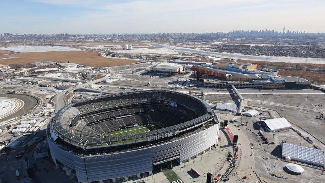 New York Area Prepares For Super Bowl XLVIII