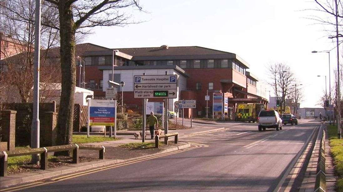 Tameside Hospital in Greater Manchester