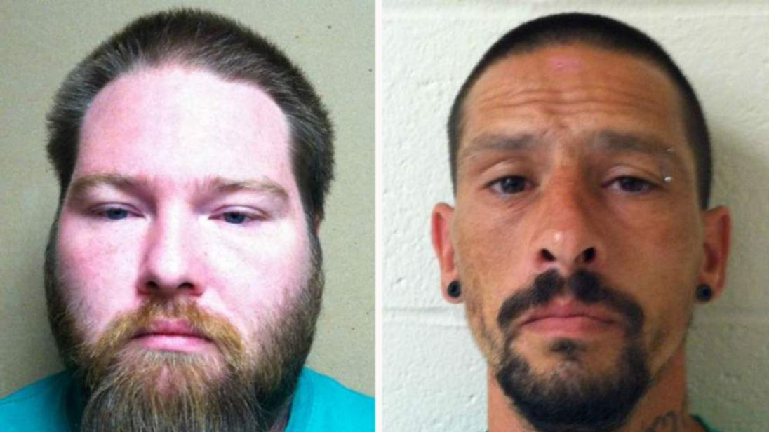 Paul Hurst (L) and Cary Edwards. Pic: Wicomico County Sheriff's Office