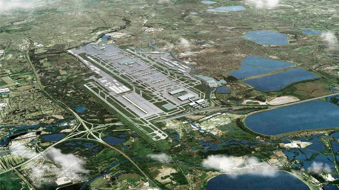 Heathrow Airport third runway proposal