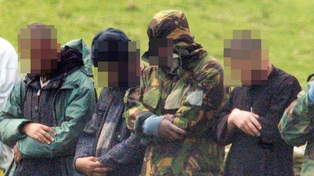 Unidentifiable UK terror suspects