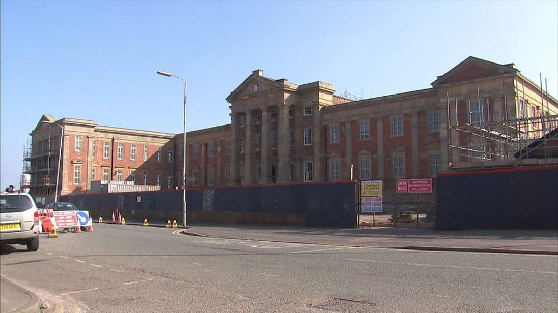 Former hospital and now Tesco site in Wolverhampton