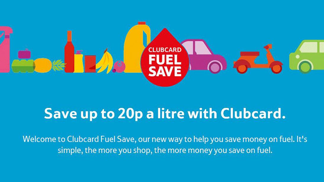Tesco Clubcard Fuel Save