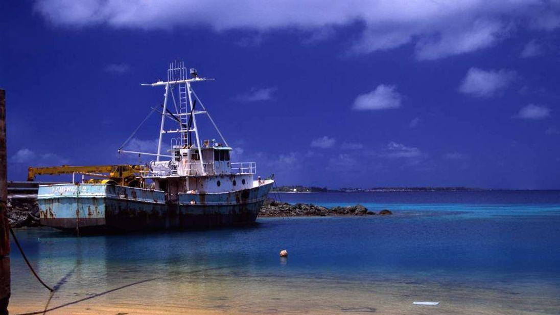 Majuro in the Marshall Islands.