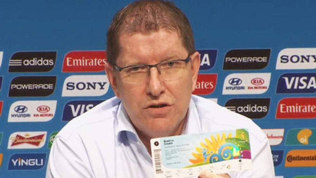 FIFA marketing spokesman Thierry Weil