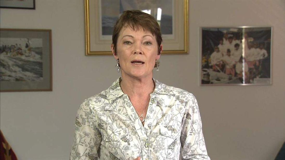 Yachtswoman Tracy Edwards