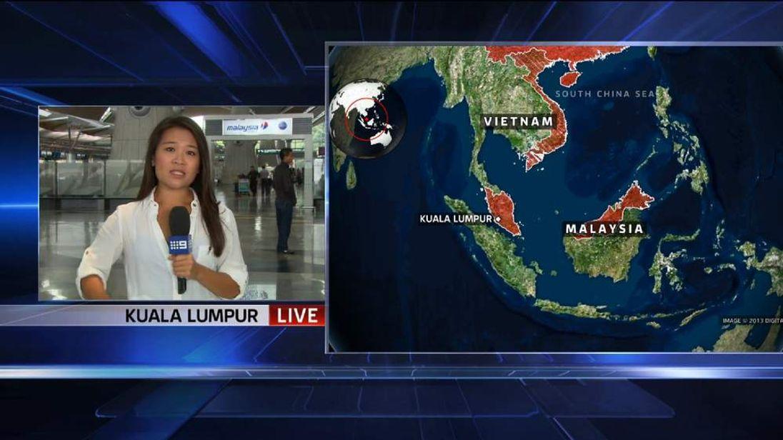 Channel 9 Australia reporter Tracy Vo