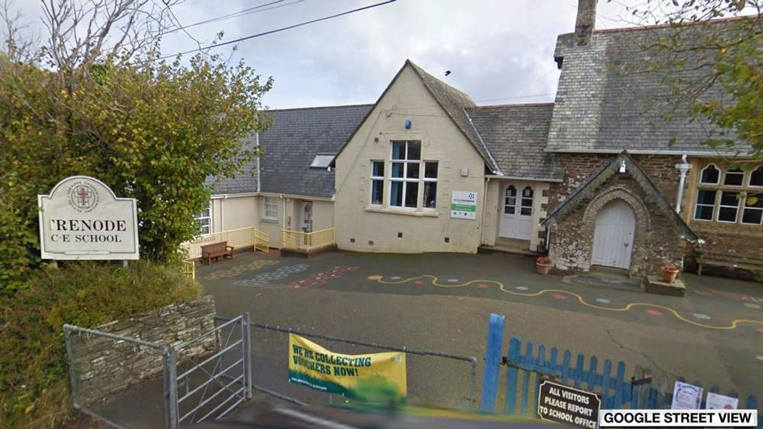 Google street view of Trenode C of E school