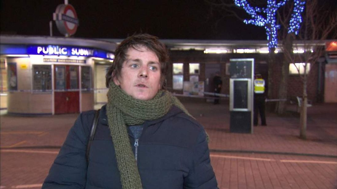 Eyewitness to Tube attack