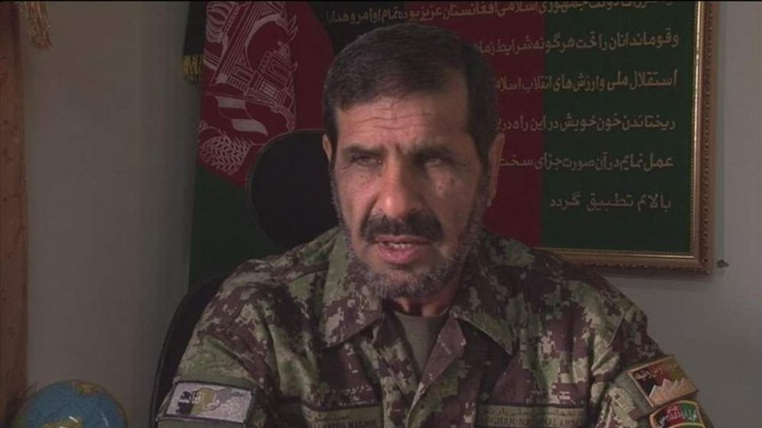General Malouk of the Afghan National Army