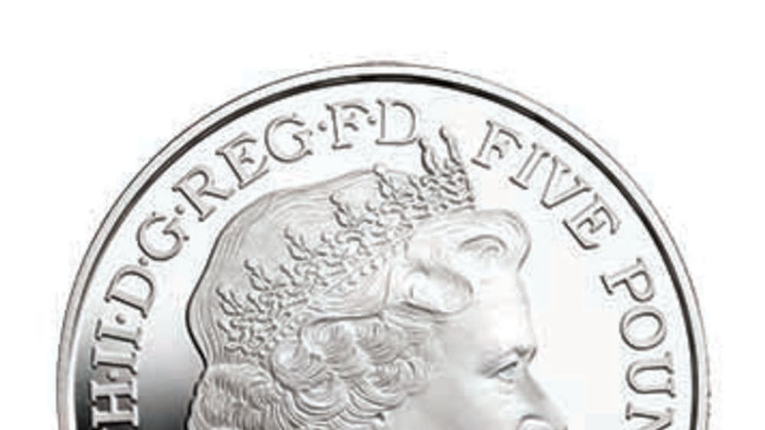 Prince George first birthday coin