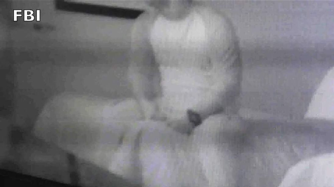 A still from an undercover video taken by the FBI