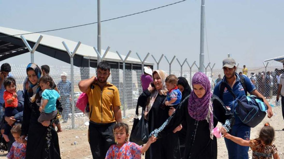 Iraqi refugees. Pics courtesy of UNHCR