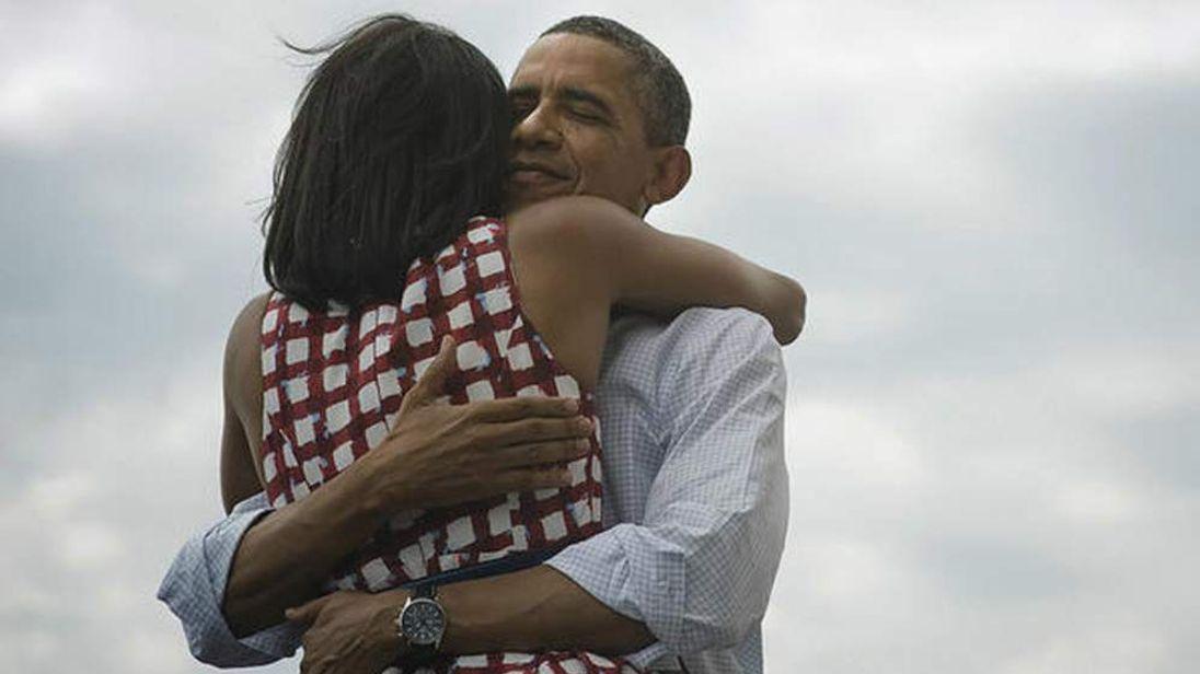 Barack Obama And Michelle Obama Twitter Image