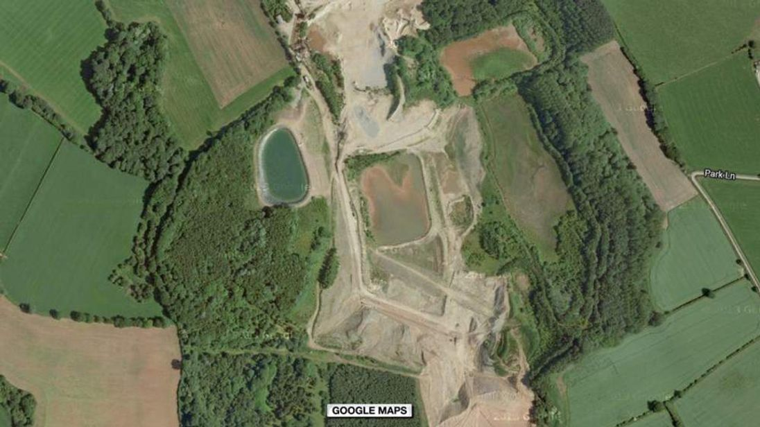 Boy found after search at quarry