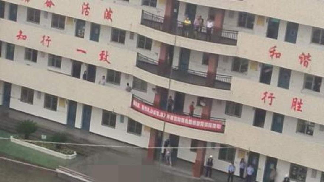 Three dead after a school stabbing in China. The killer threw himself off the school building, falling to his death
