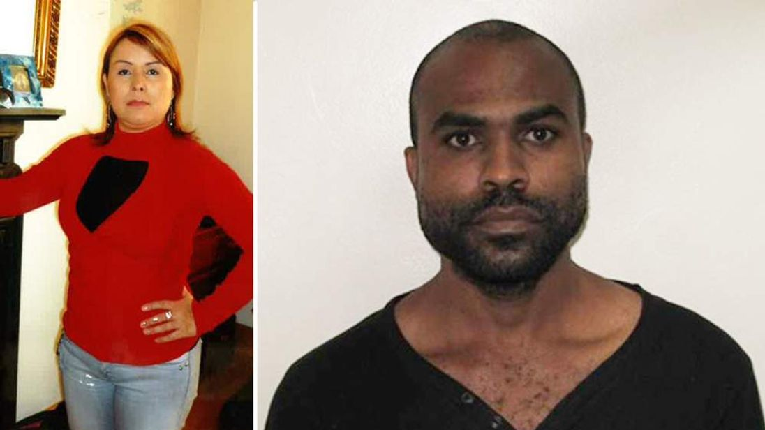 Victim Maria Duque-Tunjano (L) and Robert Richard Fraser (R)