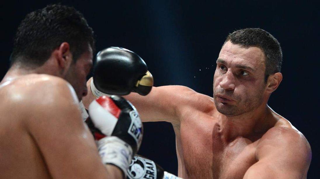 BOXING-WBC-HEAVYWEIGHT-UKR-GER