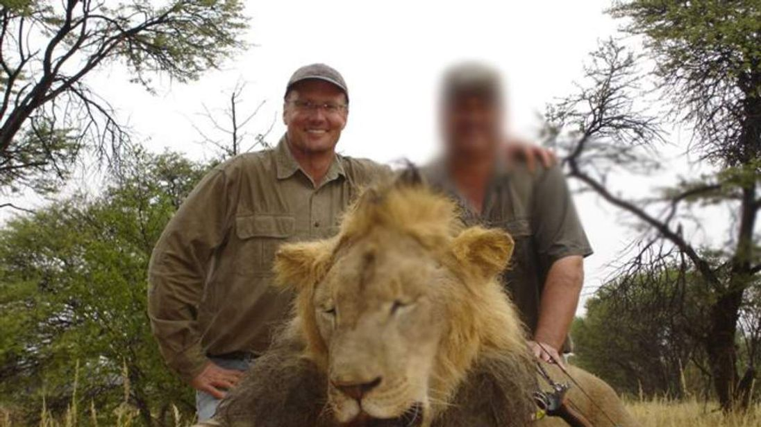 "Walter Palmer is accused of killing Zimbabwe's ""iconic"" lion named Cecil."
