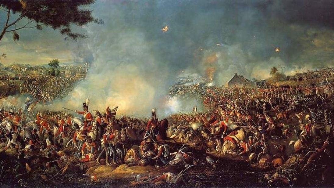 The Battle of Waterloo, by William Sadler II