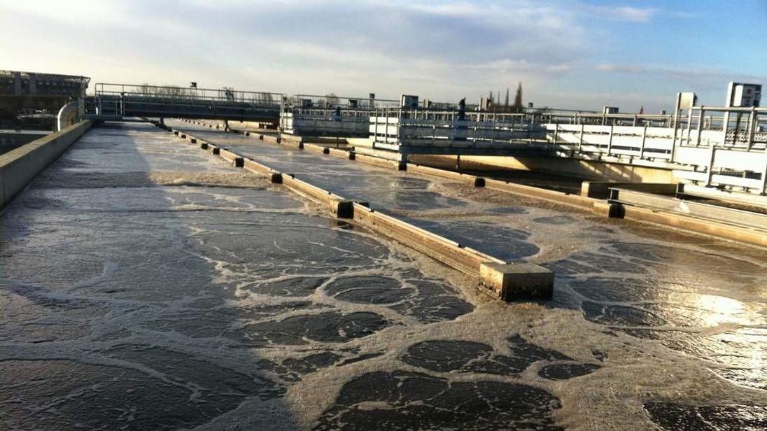 Mogden Water Treatment Works