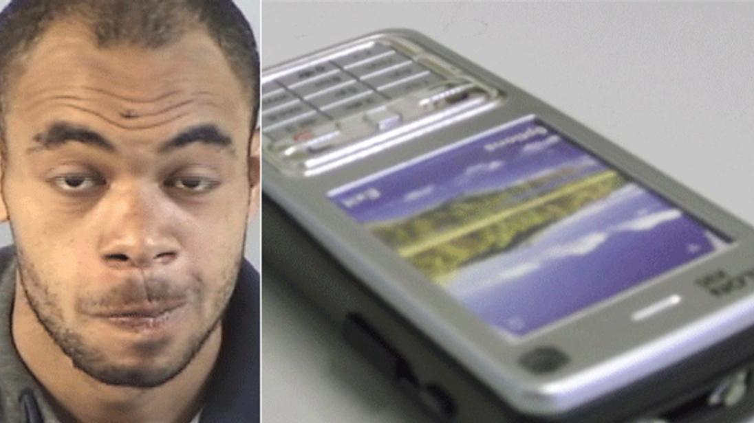 Wesley Walters and stun gun phone